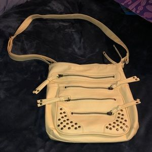 Yellow cross body purse nwot